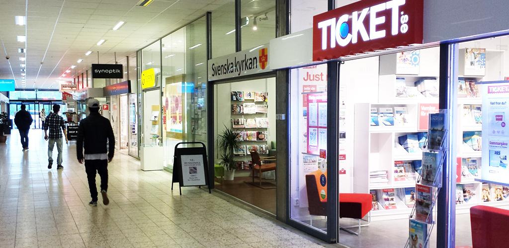 e9cdcb6cf12 Ticket Avesta Galleria; Synoptik Svneska Kyrkan Avesta Galleria ...
